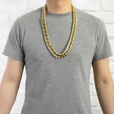 Gold Cuban Link Chain 19mm
