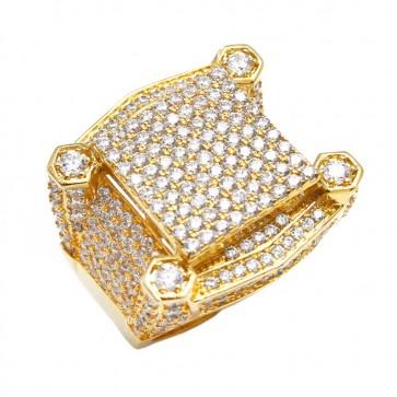 Diamond Gold Fashion Ring