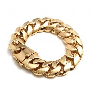 Miami Cuban Link Bracelet 18mm