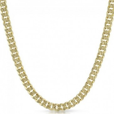 Gold Cuban Link Chain 8mm