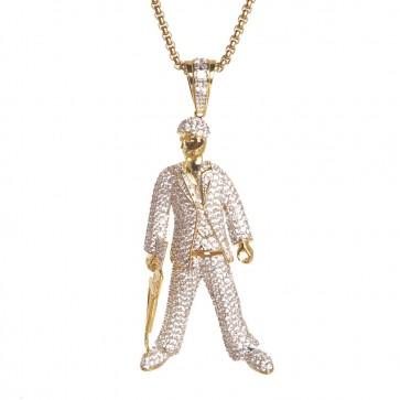 Scarface Diamond Pendant