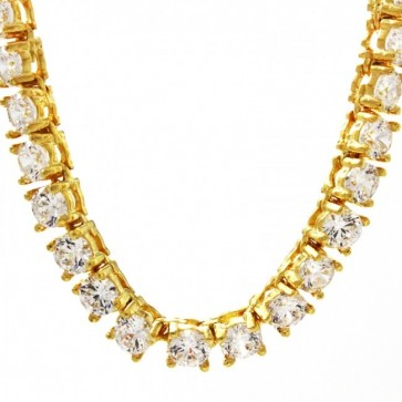 Tennis Diamond Gold Chain