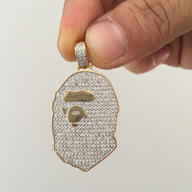 Custom gold ape designer pendant custom pendants custom gold ape designer pendant aloadofball Gallery