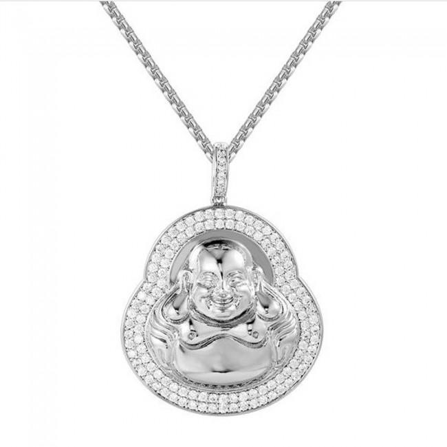 Gold buddha pendant 2 custom pendants gold buddha pendant 2 zoom aloadofball Images