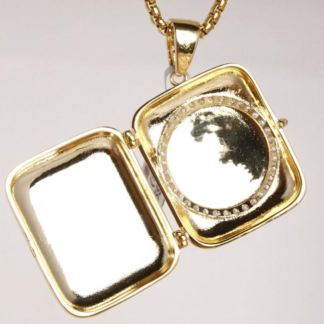 Jesus piece stash pendant custom pendants zoom mozeypictures Gallery