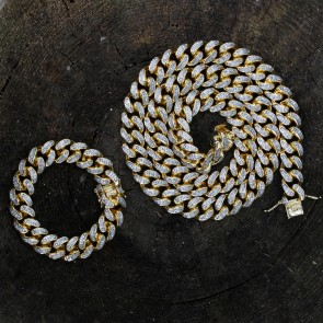 Miami Cuban Link Chain 15mm