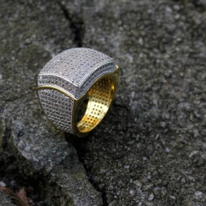 Diamond Designer Gold Fashion Ring