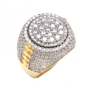 Diamond Designer Gold Fashion Ring