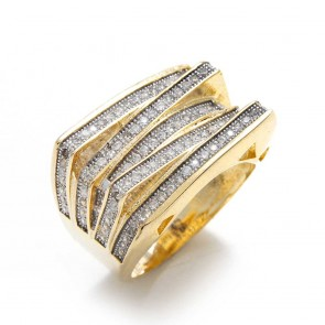 Diamond Gold Fashion Ring
