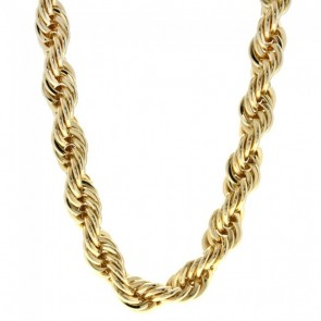 Gold Rope Chain 10mm